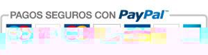 Pagos seguros con Paypal